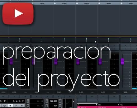 Preparación del proyecto | Mezclando una canción | Parte 1