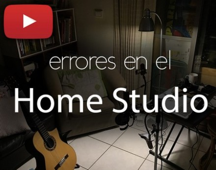 Errores en el Home Studio