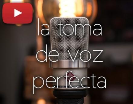 La toma de VOZ PERFECTA | Cómo GRABAR y EDITAR voces