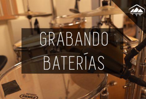 cómo grabar una batería en un cuarto pequeño