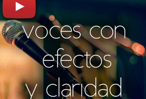 efectos en la voz