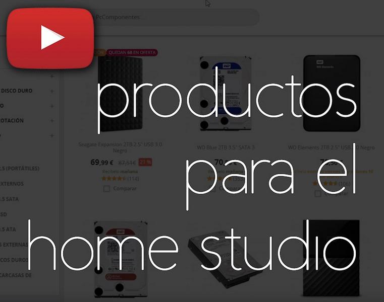 productos para el home studio