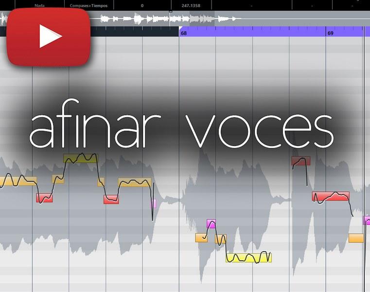 cómo afinar voces y otros instrumentos