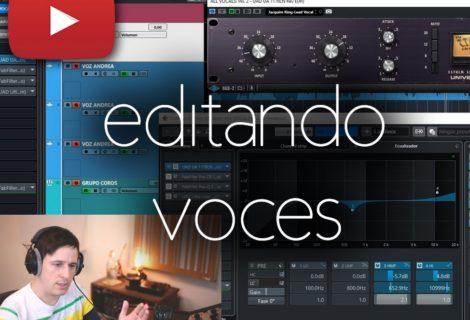 cómo editar voces profesionales