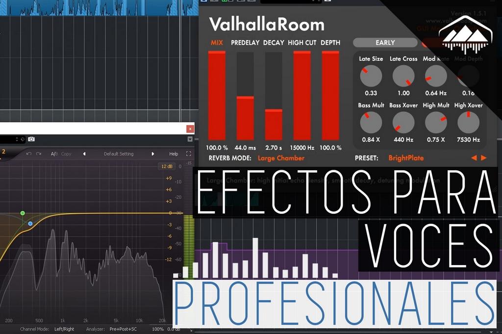efectos para voces profesionales