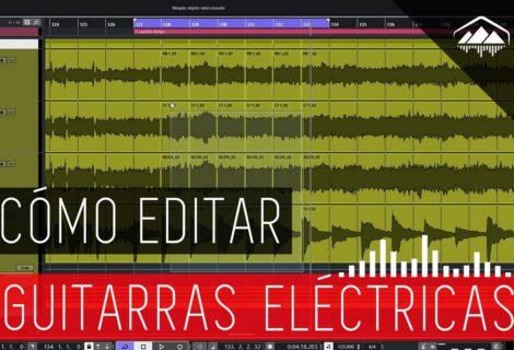 cómo editar guitarras eléctricas