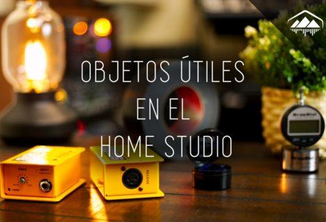 objetos útiles para el home studio