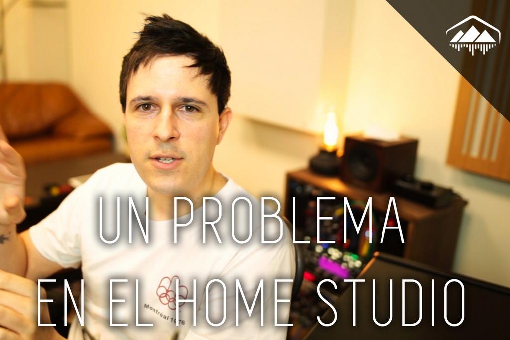 problema en el home studio