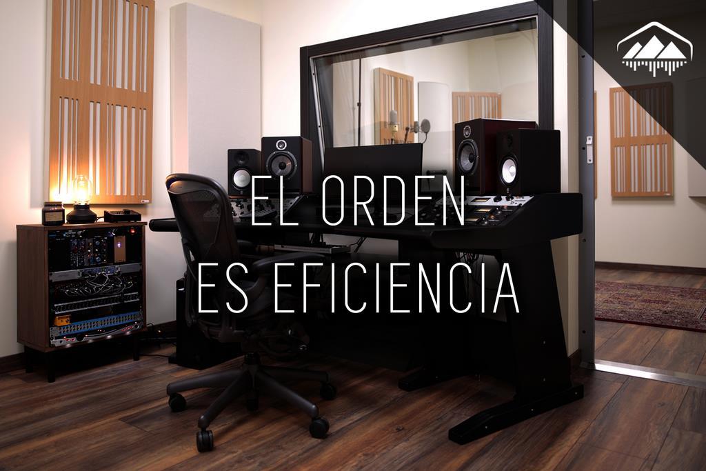 El DESORDEN en el Home Studio