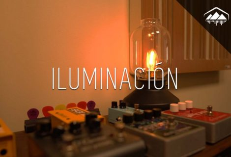 la iluminación en el home studio