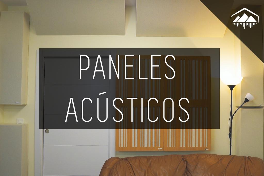 Paneles ACÚSTICOS para ELIMINAR ECO del Home Studio